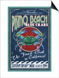 Pismo Beach  California - Blue Crabs