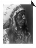 Jack Red Cloud Ogalala Indian Portrait Curtis Photograph