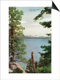 Lake Tahoe  California - Freels Peak View from Lake