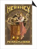 Woman Making Chocolate - Hershey  Pennsylvania
