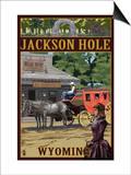 Jackson Hole  Wyoming Stagecoach