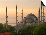 Sultan Ahmet (Blue Mosque) at Dawn  Historic Centre of Istanbul