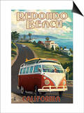 Redondo Beach  California - VW Van Cruise
