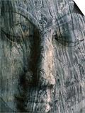 Face of 14M Long Reclining Image of Buddha  Polonnaruwa  North Central  Sri Lanka