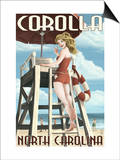 Corolla  North Carolina - Pinup Girl Lifeguard