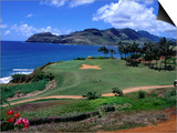 Golf Course Overlooking the Picturesque Hanamaulu Bay