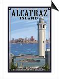 Alcatraz Island and City - San Francisco  CA