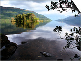 Tarbet Isle on Loch Lomond  Loch Lomond and the Trossachs National Park