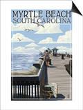 Myrtle Beach  South Carolina - Pier Scene
