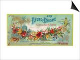 Fleurs D Ethiopie Soap Label - Paris  France