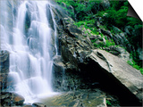 Hickory Nut Falls  Chimney Rock Park  Asheville  North Carolina