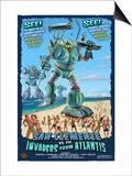San Clemente  California - Atlantean Invaders