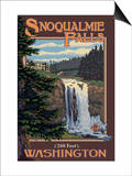 Snoqualmie Falls by Day  Washington