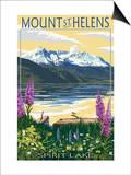 Mount St Helens  Washington - Spirit Lake