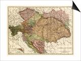 Austria-Hungary - Panoramic Map