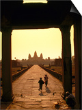 Sunrise at Temple Entrance  Angkor Wat