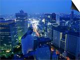 City Skyline from Sky Bar  Park Hyatt Tokyo  Tokyo  Japan