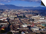 Cityscape of Guatemala's Second Largest City  Quetzaltenango  Guatemala