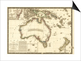 Australia - Panoramic Map