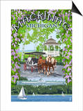 Mackinac  Michigan - Montage Scenes