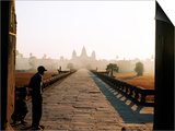 Angkor Wat at Dawn  Siem Reap  Cambodia