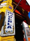 Bar Entrance  La Boca  Buenos Aires  Argentina