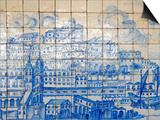 Azulejos  Portugal's Painted Tiles at the Museo Nacional Do Azulejo  Lisbon  Portugal