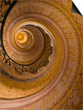 Spiral Staircase at Baroque Monastery Church of Sts Peter and Paul