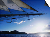 Horizon Seem from Bowsprit Net Star Clipper  Tortola