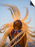 Intore Dancer Flicking His Hair  Rwanda
