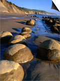 Bowling Ball Beach in the Point Arena Area  Mendocino  California  USA