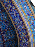 Moasic Detail of Iranian Mosque  Dubai  United Arab Emirates