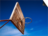 Basketball Net Against Blue Sky