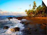 Beach on Pacific Ocean on West Coast of Costa Rica