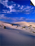 Sand Dunes Carved by Wind  Eucla National Park  Australia