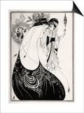 The Peacock Skirt' - Aubrey Beardsley 's illustration for 'salome ' by Oscar Wilde
