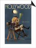 Hollywood  California - Directing Pinup Girl