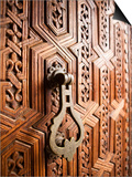 Door Detail  Musee De Marrakesh  Place Ben Youssef