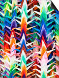 Colourful Paper Cranes at Fushimi Inari Shrine