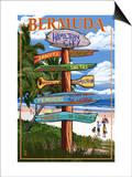 Bermuda - Sign Destinations