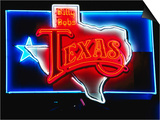 Neon Sign  Billy Bob's Texas Honky Tonk  Fort Worth  Texas