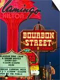 Neon Signs on the Strip  Las Vegas  USA