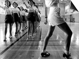 Tap Dancing Class at Iowa State College  1942