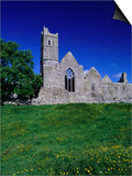 Quin Abbey Franciscan 15th Century Friary  County Clare  Ireland