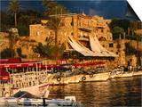 Boats on Waterfront  Byblos  Jabal Lubnan  Lebanon