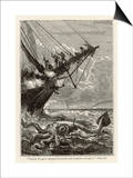 20 000 Leagues Under the Sea: Attacking a Giant Squid