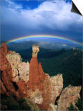 Rainbow Over Bryce Canyon  Bryce Canyon National Park  USA