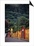 Antigua Streets  Antigua City Sacatepequez  Guatemala