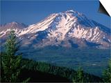 Mt Shasta across Lake Siskiyou  California
