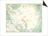 1957 Antarctica Map